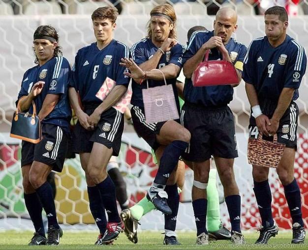 Seleção Argentina(couloros)...kkk